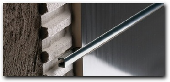 B72124002 Pro-telo aluminio brillante 10mm plata 1x250