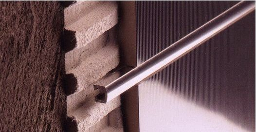 B72141303 Perfil Pro-Telo Inox Cuarzo 0,8x1,0x250
