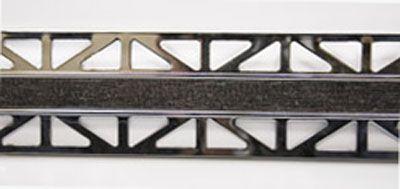 B72141312 Pro-Telo Wood 25 Laton Cromado 12,5 Wenge 25x12,5