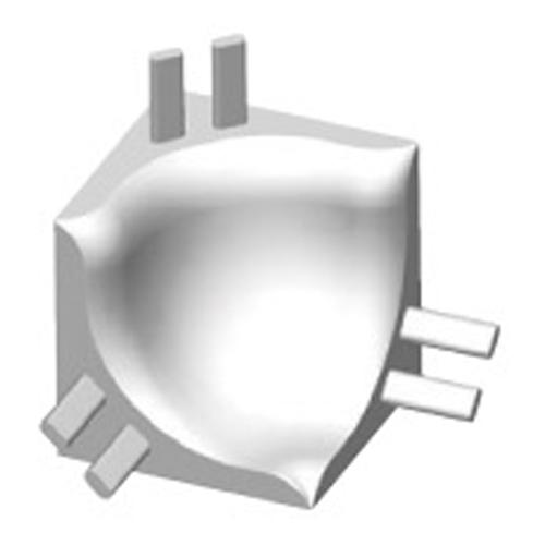 Progress Profiles Угол внутренний для гибкого профиля TRI 16-01
