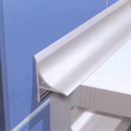 Progress гибкий профиль ПВХ для ванн PSBF 20 белый 20мм 2,5м