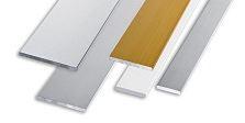 Полоса алюминиевая анодированная глянцевая 20х2мм 2м PIВС 202 серебро