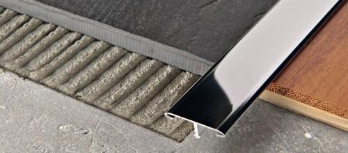 Профиль Т-образный алюминиевый анодированный матовый 14мм 2,7м PCRAА 149 серебро